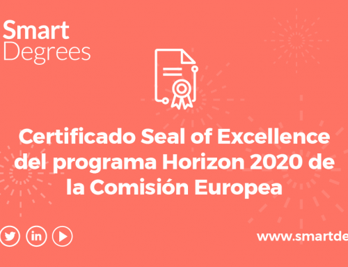 SmartDegrees obtains the European Commission Seal of Excellence